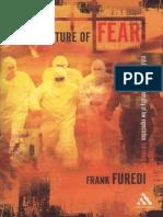 Furedi Culture of Fear