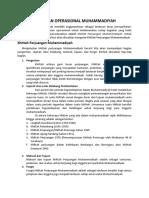 Muhammadiyah - Landasan Operasional Muhammadiyah.docx