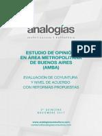 Encuesta Analogías - AMBA Noviembre - Reformas