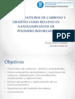 Uso de Nanotubos de Carbono y Grafeno para la formacion de nanocompuestos