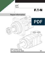 Repair. Motor hidraulico tipo DISC VALVA. 4000 SERIE COMPACTA..pdf