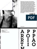 Appropriation. Documents of Contemporary Art