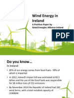 Presentation of GEAI Position Paper on Wind Energy