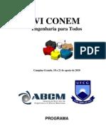 Programacao Final CONEM 2010