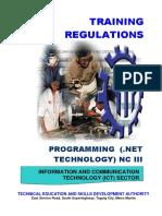 TR - Programming (NET Technology) NC III