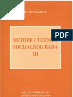 Metode i Tehnike Socijalnog Rada III