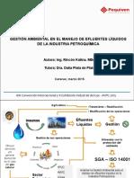 Gestión Ambiental de la industria Petroquímica