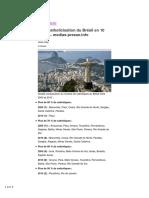 La Décatholicisation Du Brésil en 10 Ans…