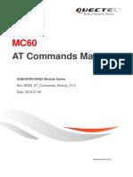 Quectel MC60 at Commands Manual V1.0