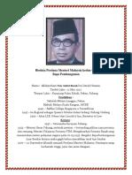 Biodata PM Malaysia