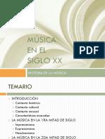 Música Siglo Xx