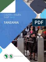 AfDB Tanzania Country Results Brief