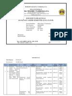 Kisi-kisi Pas Kelas Xi Mipa-peminatan