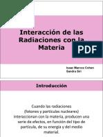 RQ%2c 2017. 5. Interacción de Las Radiaciones Con La Materia