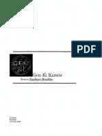Manual Gen Ki Karate Scan OCR