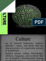 Characteristics of Cultute