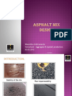 Asphault Mix Design