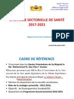 Strategie Ministerielle 2017-2021