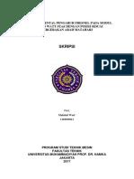 1.Cover Sampul Depan Skripsi Teknik Mesin