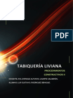 Tabiquería Liviana