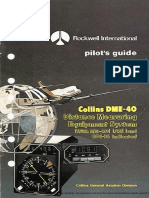 Rockwell Collins DME-40 Pilot's Guide
