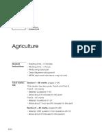 NESA 2017 HSC Agriculture Exam