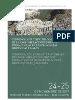 Terminología y realidad material de las aglomeraciones urbanas infra-cívicas en las provincias hispánicas y galas