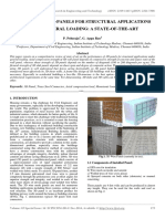 Behavior of 3d Panels for Structural Applications Under General Loading_a State of the Art