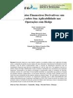 Instrumentos Financeiros Derivativos