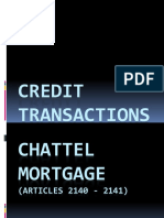 7b CREDIT TRANS Chattel Mortgager