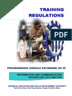 TR - Programming (Oracle Database) NC III