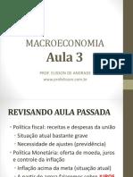 Aula 3 Macroeconomia
