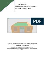 Proposal Pembangunan Gedung Madrasah Diniyah
