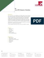 APD Data Sheet