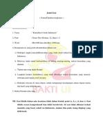 Format Essai Ui Excellence- Bakti