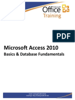 Access2010Basics Handout