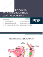 Poisoning by Plants With Anticholinergic ( Anti Muscarinic