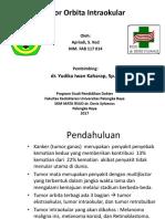 Tumor Orbita Intraokular....pptx