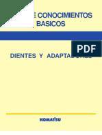 Guia de Conocimientos Basicos Dientes y Adaptadores KOMATSU