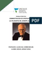 Filosofía de La Calidad Joseph M. Juran
