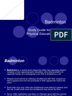 Badminton Guide