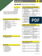 Dual Shield II 80-Ni1 h4 Data Sheet