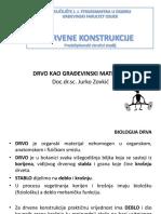 2 Predavanje Drvene konstrukcije GFOS