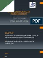 MANEJO ENDODONTICO EN PACIENTES CON VIH.pptx