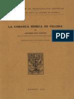 La comarca sísmica de Villena