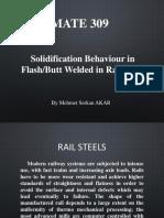 Solidification Behaviour