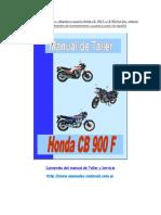 Manual Honda CB 900 F y CB 900 Bol Dor