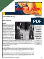 Anneke Smelik Feminist Film Theory - The Feminist EZine
