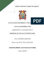 126212127 Memoria de Calculo Vivienda Unifamiliar