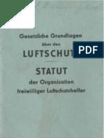 Luftschutz - Statut